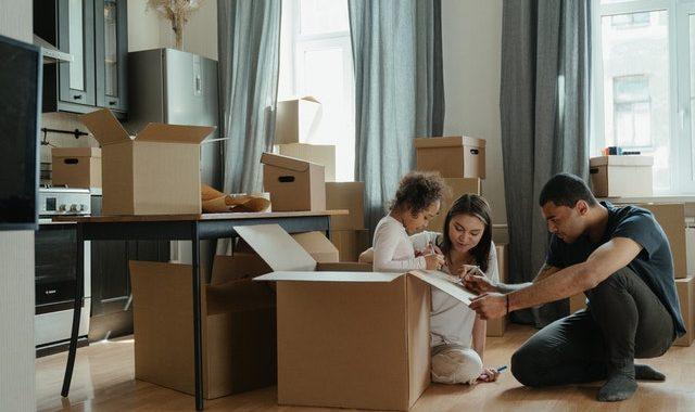 verhuizen naar woning in Voorschoten